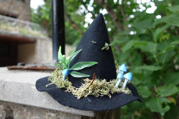 its alive dolls - forest spirit witch hat - blue